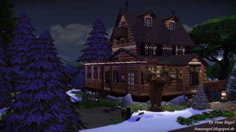 christmas log cabin  frau engel sims  updates