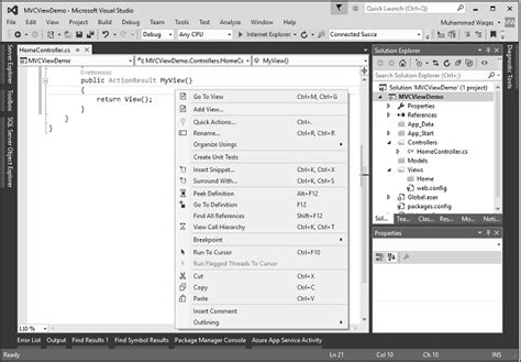 tutorial point asp net mvc dotnet basic advance tutorial mvc part 11