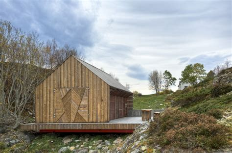 norwegian boathouse by tyin tegnestue architects share - Nordic Boat House