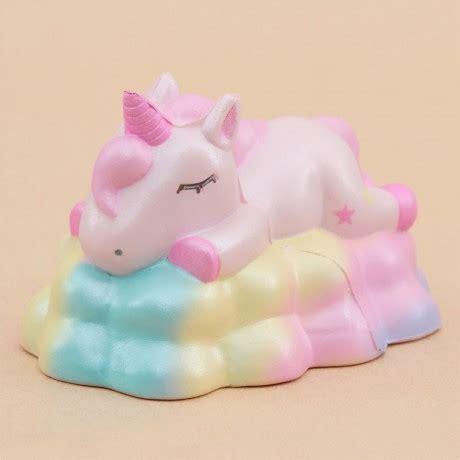 Rainbow Galaxy Moon Bun Squishy squishy profumato unicorno rosa nuvola arcobaleno wawaii