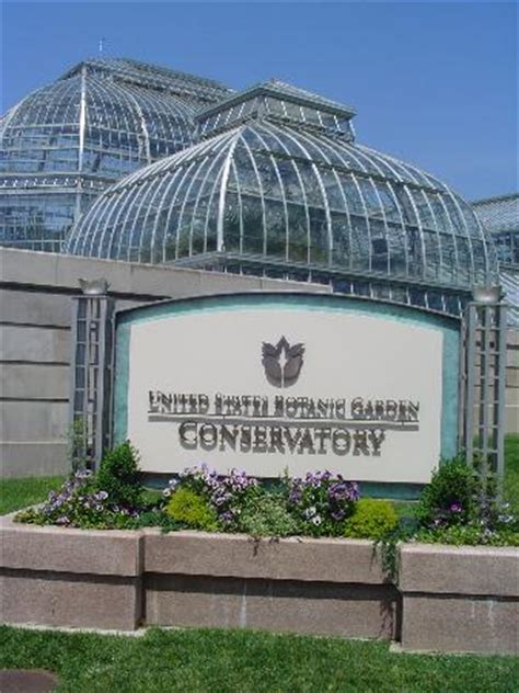 United States Botanic Garden Washington Dc Exterior View With Sign Picture Of United States Botanic Garden Washington Dc Tripadvisor