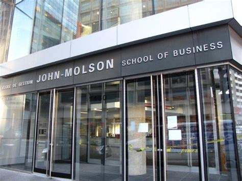 Molson Business School Mba by Concordia Molson School Of Business Greater