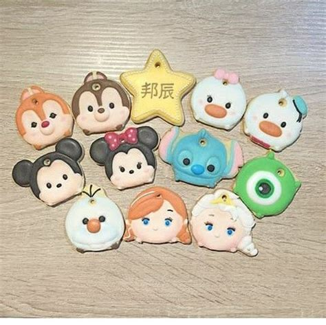 Disney Tsum Tsum Cookies Keychain Set Of 40 17 best images about galletas tsum tsum on disney disney and sweet