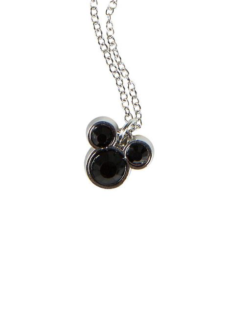 Disney Mickey Necklace Kalung disney mickey mouse charm necklace topic