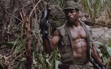 black actor action film of movies and men carl weathers and the problem of black