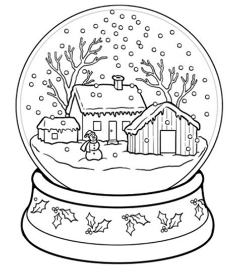 snowy house coloring pages 21 christmas printable coloring pages everythingetsy com
