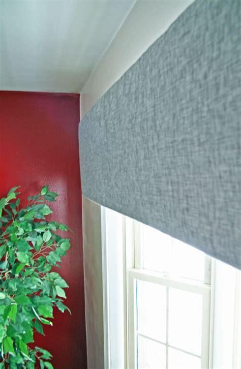 Styrofoam Window Cornices how to make foam board cornice rhapsody in rooms