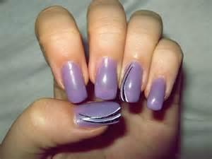 style nail art line nail art