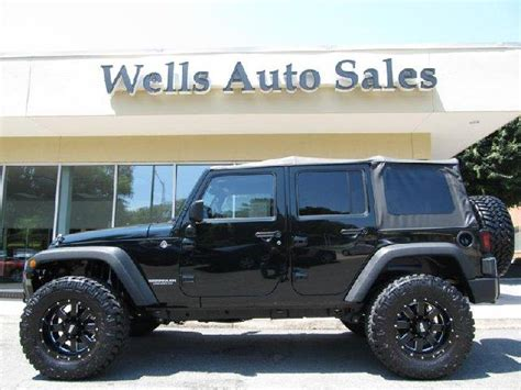 Jeep 4x4 Wrangler For Sale 2012 Jeep Wrangler Unlimited Custom Lifted 4x4 For Sale In