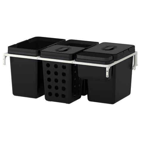 ikea utrusta schublade variera utrusta waste sorting for cabinet 80 cm 72 l ikea