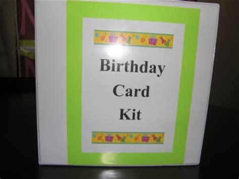 birthday card kits diy greeting card kit simple gift for giving 24 7