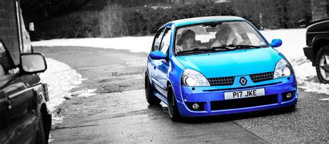 renaultsport clio  stanced clio rs renault carlook