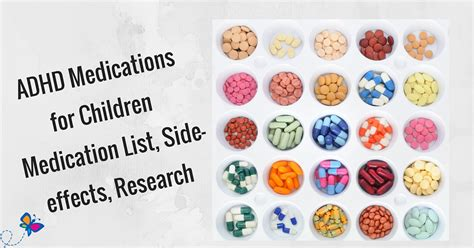 hyperactive medication adhd medications for children medication list side effects research