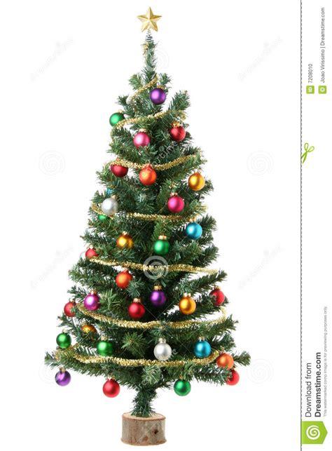 christmas tree stock photo image 7208010