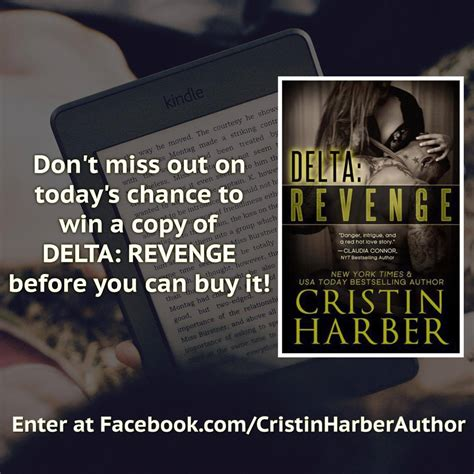 Powerball Giveaway Facebook - arc lottery for delta revenge by cristin harber