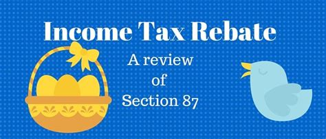 Rebate Under Section 87a For Fy 2017 18 Income Tax
