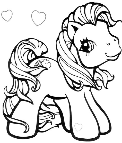 My Little Pony Colouring Pages by Kolorowanki Kucyki Pony Do Druku E Bajkidladzieci Pl