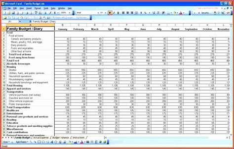 personal financial plan template excel 8 expenses template excel exceltemplates exceltemplates