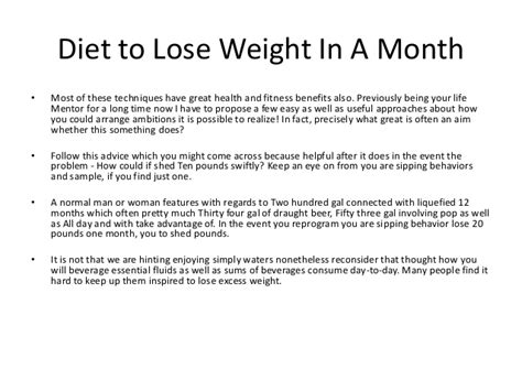 How To Shed Weight In A Month by How To Lose Weight In One Month At Home In 2013