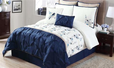 groupon comforter lydia 8 piece comforter set groupon