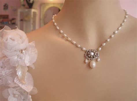 bridal necklace bridal jewelry wedding necklace