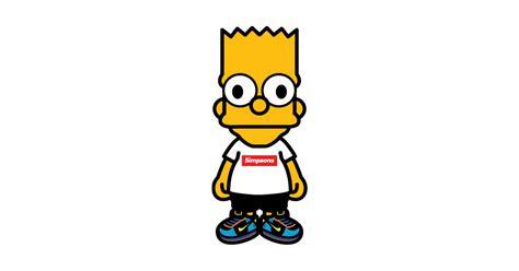 T Shirt Supreme Bart Simpsons Premium hypebart hypebeast t shirt teepublic