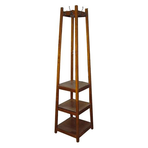 coat rack with shoe storage 3 tier shoe tower coat rack coat racks at hayneedle