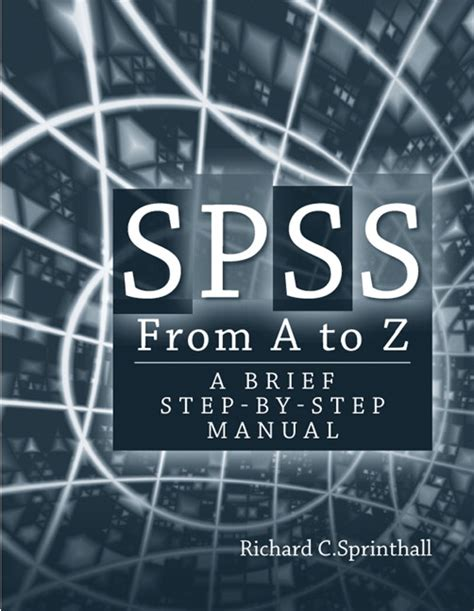 manual spss pdf sprinthall spss from a to z a brief step by step manual