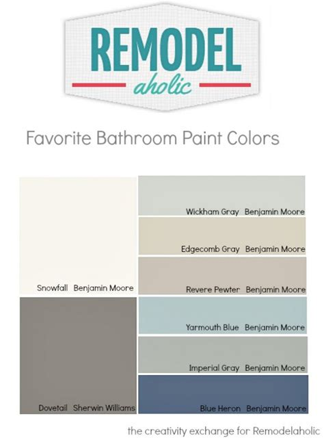 tips for picking paint colors remodelaholic tips and tricks for choosing bathroom