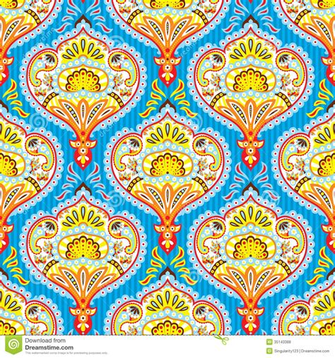 paisley pattern wallpaper vector seamless paisley pattern stock vector image of ornament