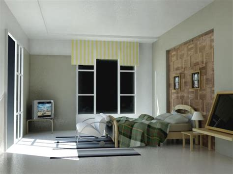 interior stuff daylight interior room house bedroom max 3ds max software household items