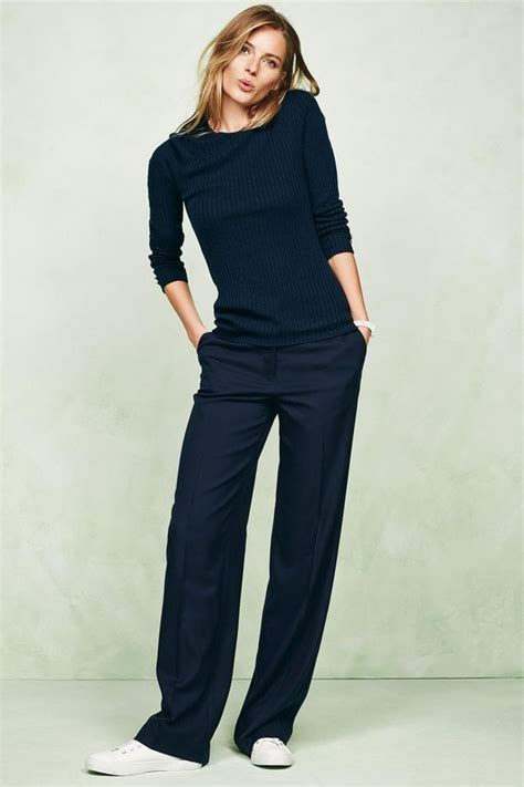 Minimal Slouchy Knit Top Navy by Best 25 Navy Converse Ideas On Blue
