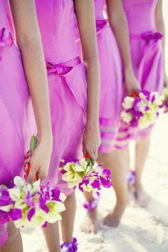 Pre Made Bridesmaid Bouquets by Bridesmaids On Faux Flowers Bridesmaid