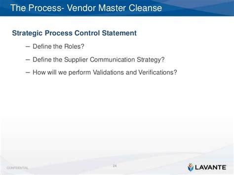 Detox Process Definition by Detox Your Vendor Master File Process How To Sanitize