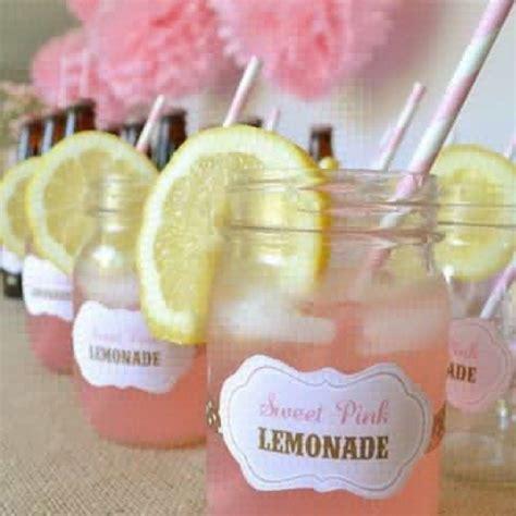 Lemonade For Baby Shower by Pink Lemonade Baby Shower