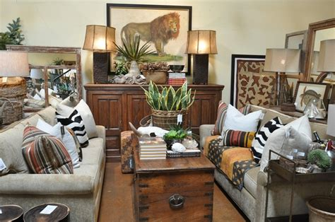 safari dining room living room remodel