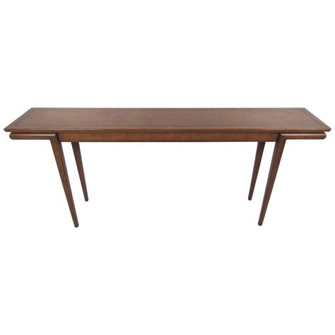Mid Century Modern Sofa Table by Mid Century Modern American Walnut Console Table At 1stdibs