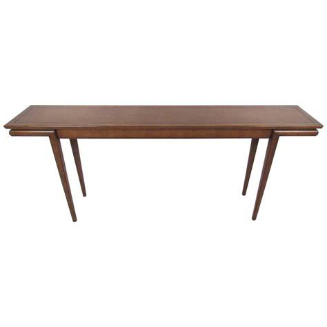 mid century modern sofa table mid century modern american walnut console table at 1stdibs