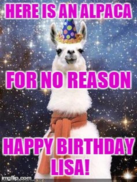 Alpaca Meme Generator - happy birthday alpaca imgflip