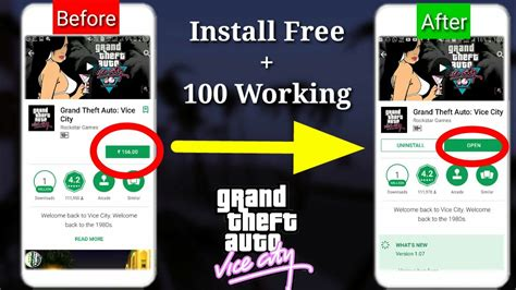 gta vice city free for android mobile yt 107 gta vice city for free in android mobile processgameplay proofnew link