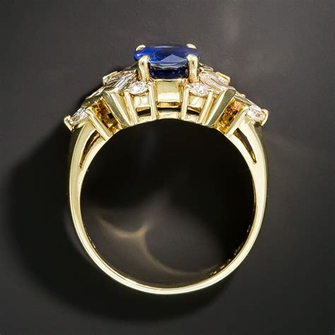 Sapphire No Heat no heat sapphire thailand 1 60 carat sapphire and ring