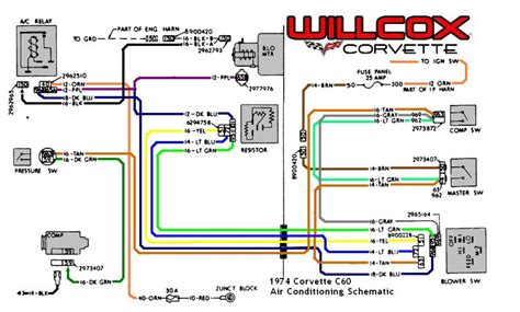 c3 corvette ac wiring diagram c3 corvette assembly
