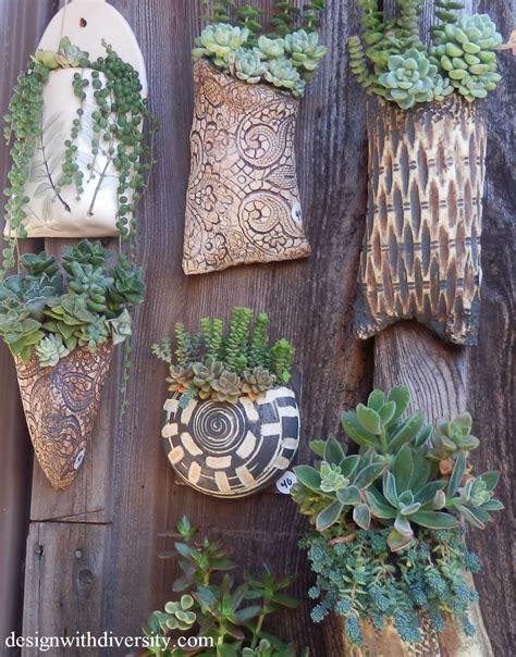 Wall Planter Pockets by Wall Pocket Pottery