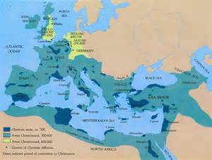 christian map 1320 section 13 early christianity and history
