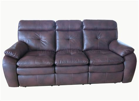 leather motion sofa stamford 441418 motion sofa loveseat in brown leather