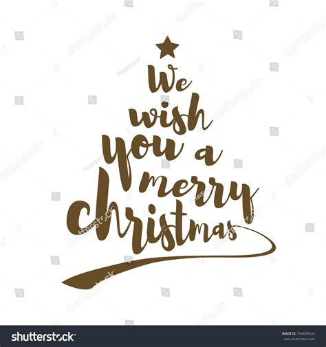 merry christmas quote stock vector  shutterstock