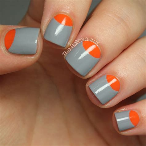 nail design tips home how to create a half moon nail more com
