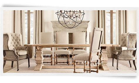 Dining Room Tables Restoration Hardware by Rh