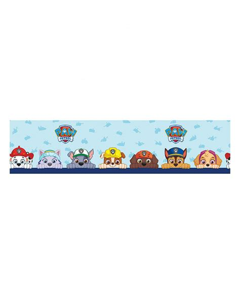Wallpaper 5m paw patrol self adhesive wallpaper border 5m bedroom decor