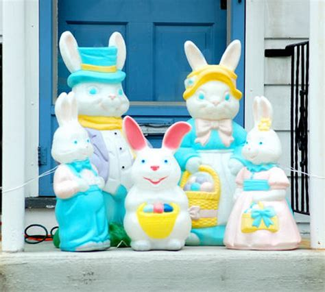 exclusive outdoor easter decorations family net